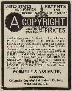 copyright law old poster