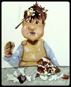 Jordan Kim gingerbread boy