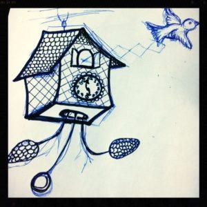 Jordan Kim Cuckoo Clock sketch