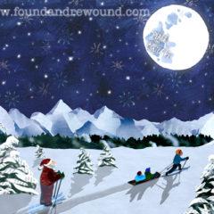 December Moonlight Ski