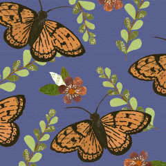 Forest Friends Fabric – Butterfly Coordinate