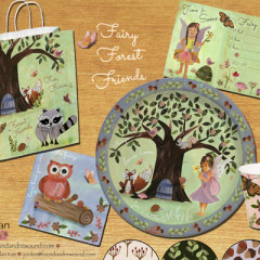 Fairy Forest Party Paper