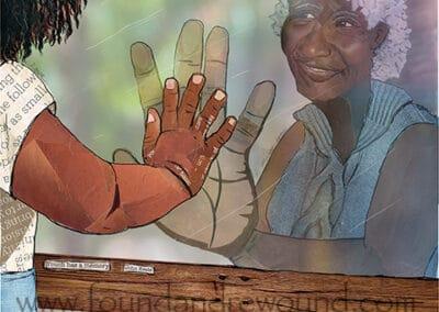Grandma Through Glass