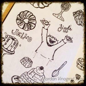 Jordan Vinograd Kim jello sketches