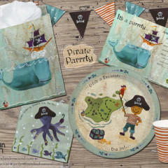 Pirate Parrrty Paper