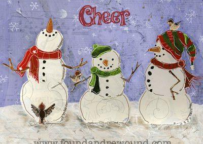 Snow Birds Snowmen