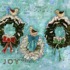 Snow Birds Wreaths