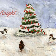 Snow Birds Christmas Tree