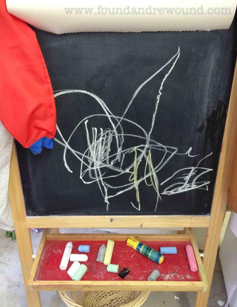 Kid Chalk Art