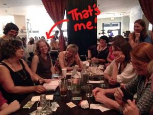 Jordan Kim meeting Lilla Rogers