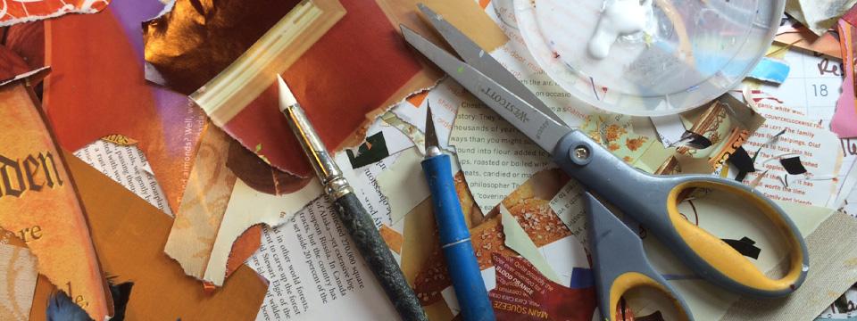 Scissors Paper Glue