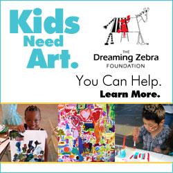 Dreaming Zebra web banner